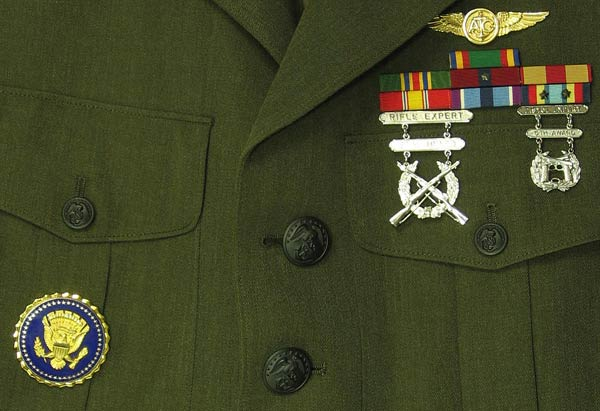 Usmc Service Alphas Ribbon And Badge Placement