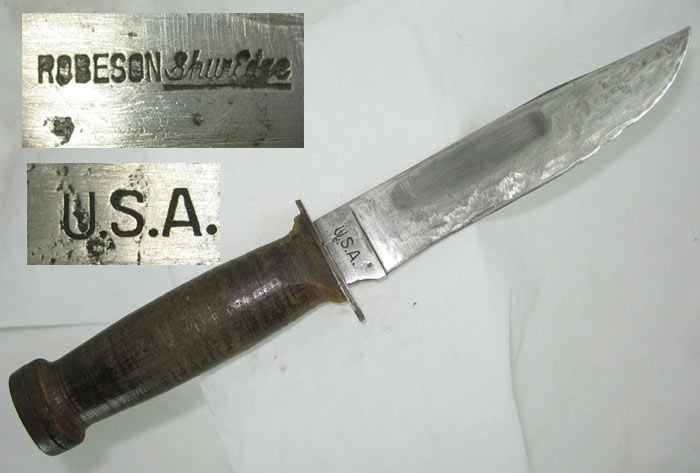 dating robeson knives