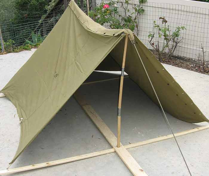 Posted Image & WW2 Tent Display - DISPLAYS - U.S. Militaria Forum