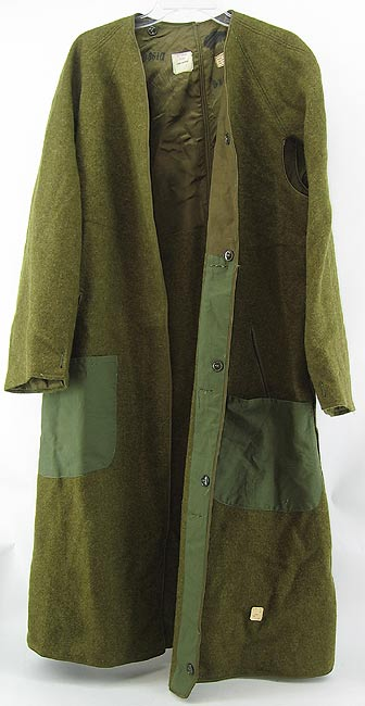 Wwii Trench Coat Wool Liner Modified Or Korean War